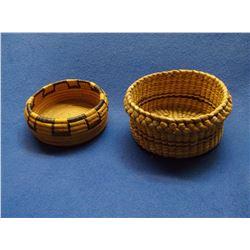 """Southwest Baskets- 3.25""""H X 6.5""""W- 2.5""""H X 5.5""""W"""
