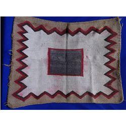 """Navajo Saddle Blanket- 38""""L X 29""""W"""
