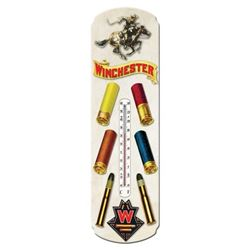 TIN THERMOMETER WINCHESTER AMMUNITION