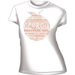 """WOMEN'S T-SHIRT """"GEORGIA PEACH"""""""