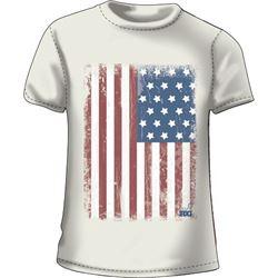 """WOMEN'S T-SHIRT """"GRAND 'OL FLAG"""""""