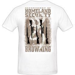 "MEN'S T-SHIRT ""HOMELAND SECURITY"""