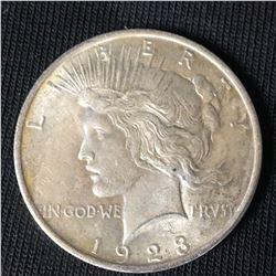 1923 US Silver Peace Dollar