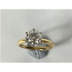 1.50 Carat Solitaire Diamond Ring in 18ct Gold