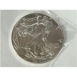 2012 USA 1oz Silver American Eagle Coin - Brilliant Uncirculated