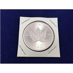2015 1oz Silver Maple Coin - Brilliant Uncirculated