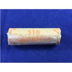 Roll of US Bicentennial Quarters