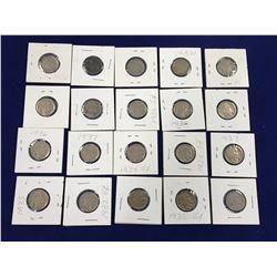 Large Group of US Buffalo Nickel's