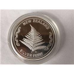 1oz .999% Fine Silver Aotearoa Silver Round