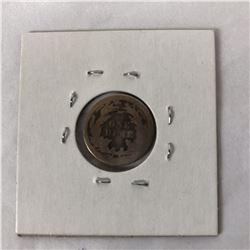1876 USA Sitting Liberty Silver Dime