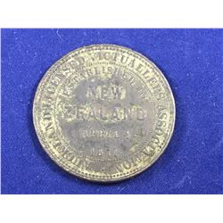 1871 Token coinage Auckland Licensed Victuallers Association