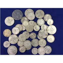 1/2 Pound of Silver English Coins ( Total Weight) Includes Half Crown, Florins, Shillings & Sixpence