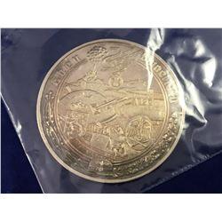"Rare World War II 1939-1945 Silver German Medallion ""Eben"" - Christian Zentner Collection - Diameter"