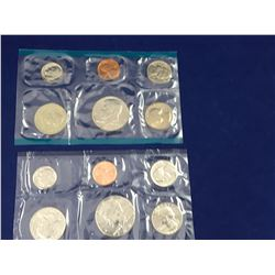Two US Mint Uncirculated Coin Sets 1979 & 1981