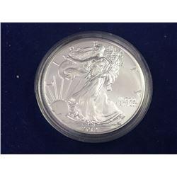 2012 USA 1oz Fine Silver American Eagle Coin - Brilliant Uncirculated