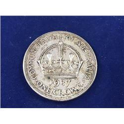 1937 Australia Silver Crown