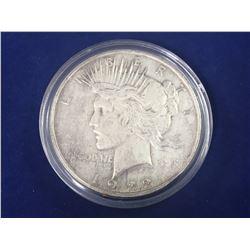 1922 US Silver Peace Dollar