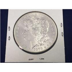 1878-S US Morgan Silver Dollar Coin - Brilliant Uncirculated
