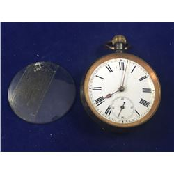Antique Pocket Watch By DP & Co. - Engraved William Reader on Back of Case