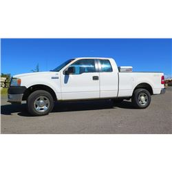 2005 Ford F150 Truck, 4X4 Crew Cab, Truck Box, Weather Guard, 178,066 miles