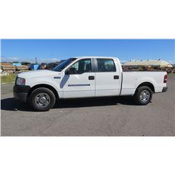 2008 Ford F150 Truck, Quad Cab, Lic. 946TTX, 68,342 miles