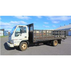 2006 GMC W4500 Flatbed/Stakebed Truck, Lic. 711TSA, 52,418 miles