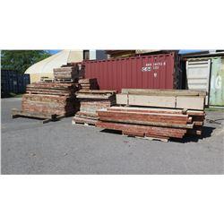 Large Lot of Concrete Forms (multiple pallets)