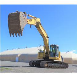 Komatsu PC228USLC-3 Hydraulic Excavator, 8743 Hrs