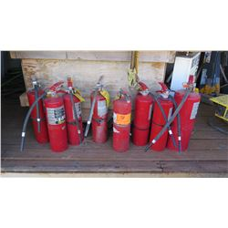 Approx. 8 Fire Extinguishers