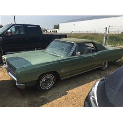 NO RESERVE 1968 PLYMOUTH FURY SPORT CONVERTIBLE