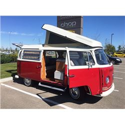 1971 VW WESTFALIA POP-UP CAMPER VAN