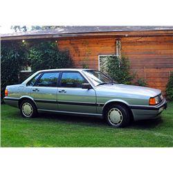 1986 AUDI 4000S 4-DOOR SEDAN