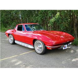 2:00 PM SATURDAY FEATURE! 1964 CHEVROLET CORVETTE 2-DOOR COUPE