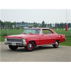 2:30 PM SATURDAY FEATURE! 1966 CHEVROLET NOVA 2-DOOR