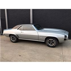 1:00PM SATURDAY FEATURE 1969 CHEVROLET CAMARO SS SUPER SPORT 4 SPEED