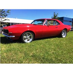 4:30 PM SATURDAY FEATURE! 1967 CHEVROLET CAMARO SS 2-DOOR