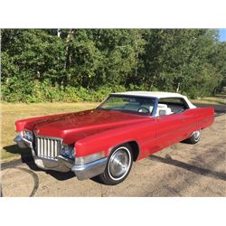 FRIDAY NIGHT! 1970 CADILLAC DEVILLE CONVERTIBLE