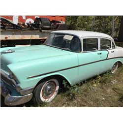 FRIDAY NIGHT! 1956 CHEVROLET 210 4-DOOR SEDAN