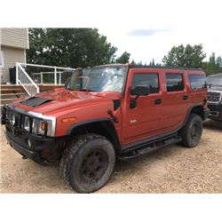 FRIDAY NIGHT! 2003 HUMMER H2
