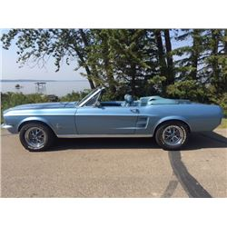 NO RESERVE 1967 FORD MUSTANG CONVERTIBLE