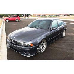 2001 BMW M5 4-DOOR SEDAN
