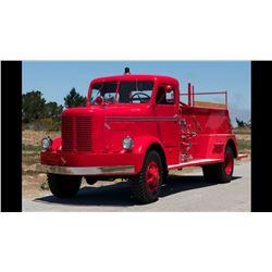 1950 FWD PUMPER FIRE TRUCK - STUNNING RESTORED