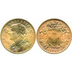 FOREIGN COINS : SWITZERLAND