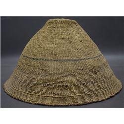MAKAH BASKETRY HAT