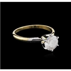 1.40 ctw Diamond Solitaire Ring - 14KT Yellow Gold