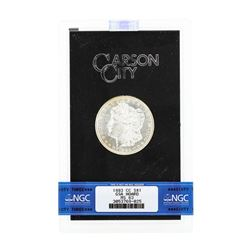 1883 MS63 Carson City Uncirculated Silver Dollar