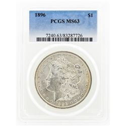 1896 MS63 Morgan Silver Dollar