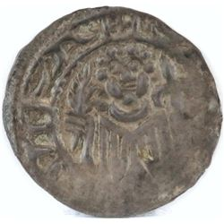 1100 - 1300 Halberstadt Prussian Saxony Bracteate - St. Stephan.
