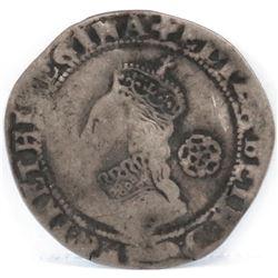 1578/7 England Sixpence - Elizabeth I.