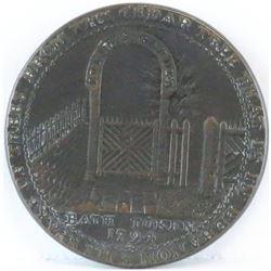 Token: 1794 GB - Somersetshire Bath Halfpenny Condor Token.